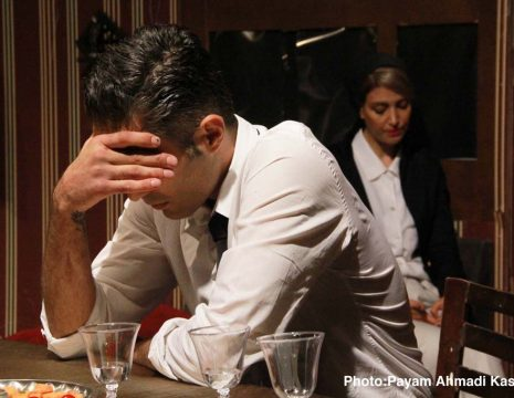 <h5>گزارش تصویری نمایش «اسم»</h5><br><div>به گزارش سینماخانه؛ نمایش «اسم» به کارگردانی و تهیه کنندگی محمد چیت سازی و با بازی حسام ... </div>