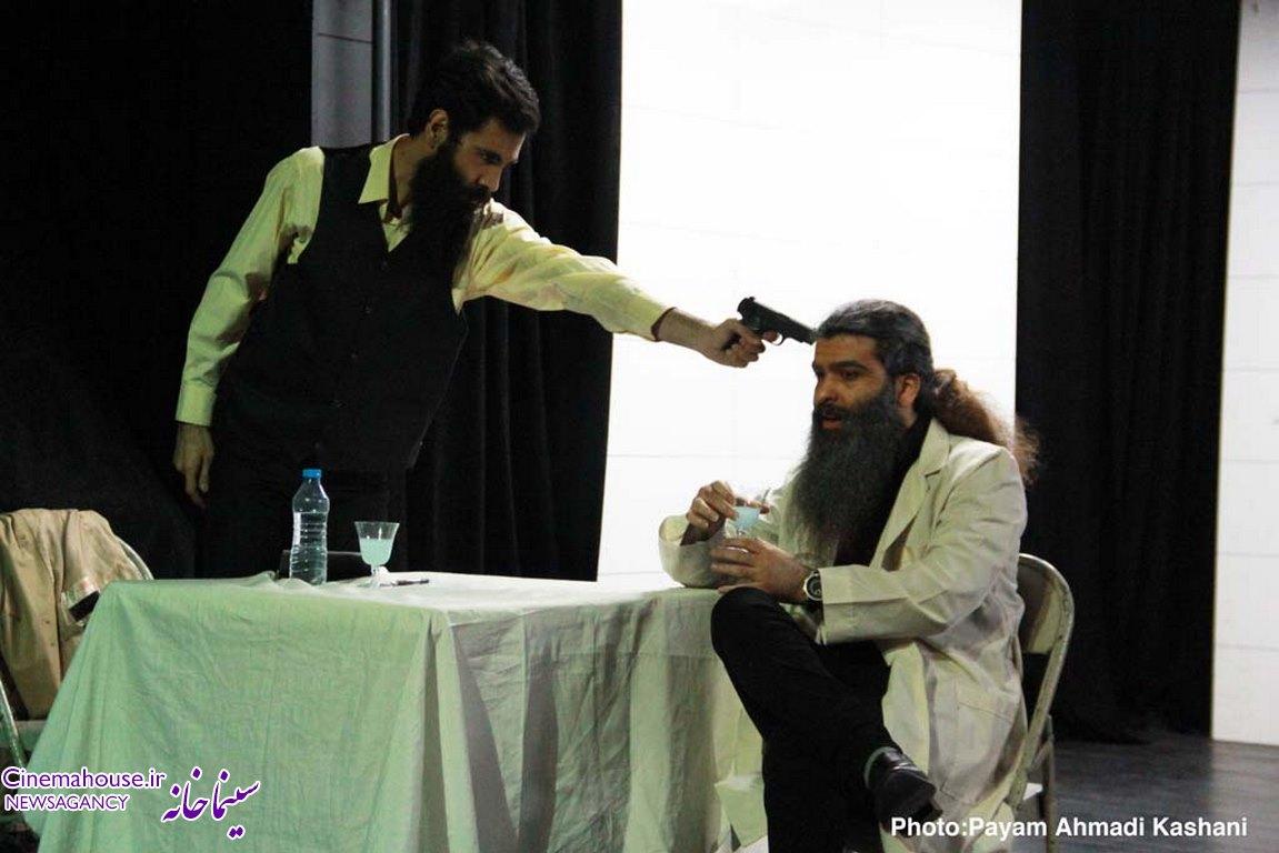 گزارش و گفتگوی اختصاصی مجله تصویری سینماخانه با پوریا جلال وندی کارگردان نمایش«مرگ و ...