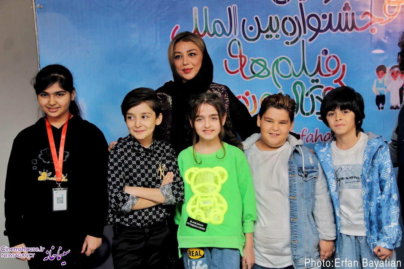 گزارش تصویری سومین روز از سی و چهارمین جشنواره فیلم های کودکان و نوجوانان