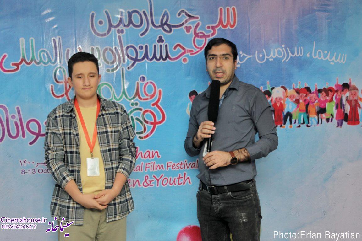 گفتگوی تصویری سینماخانه با محمدسجاد مظفری