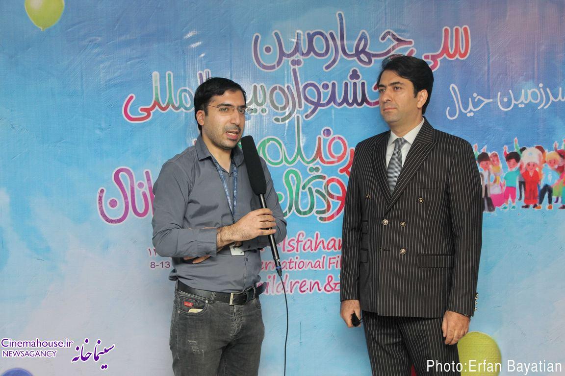 گفتگوی تصویری سینماخانه با محمد معتمدی